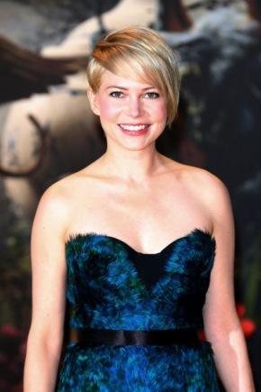 "Michelle Williams walks the Yellow Brick Road carpet at the ""Oz the Great and Powerful"" premiere, held at Empire Leicester Square, London"