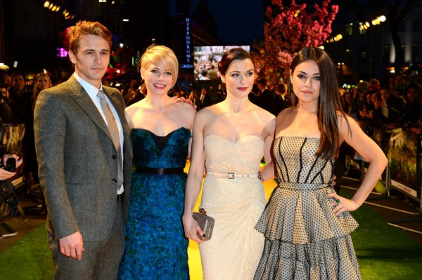 James Franco, Michelle Williams, Rachel Weisz and Mila Kunis