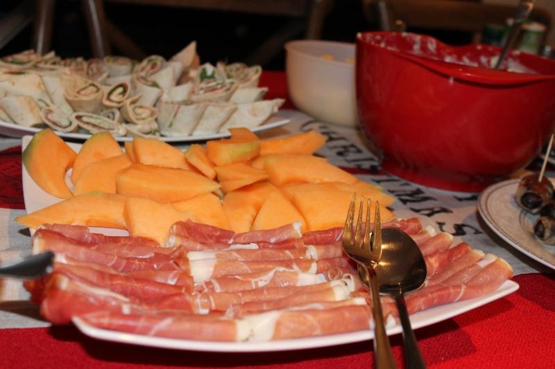 Serrano Ham and Melon